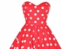 dress red polka dot: Shop for dress red