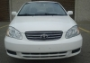 Corolla LE 2003 white color for sell in urgently !!