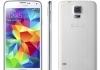 Samsung Galaxy S5 មានធានា (ថែមស្រោមនិងស្រ្គិន)