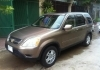 I want to sale my car HONDA CRV 2002 Gold For sale